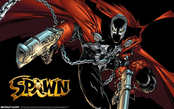 Spawn Litho-Dual Wielding Spawn WALLPAPER Views:28558