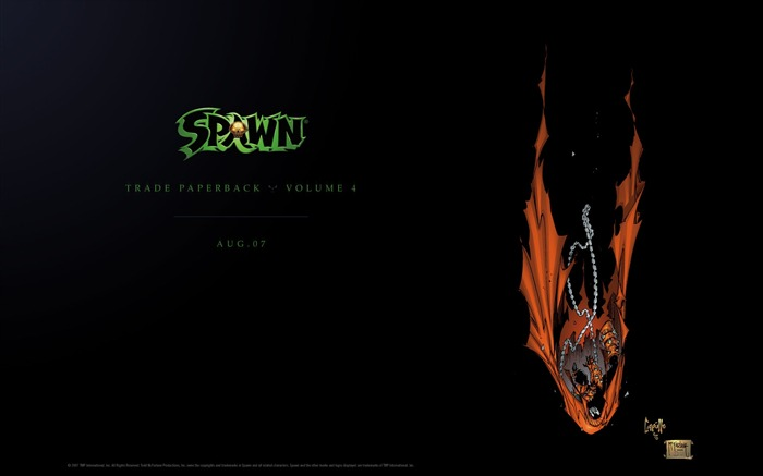 Spawn Volume 4 TPB Desktop Wallpaper Views:4557