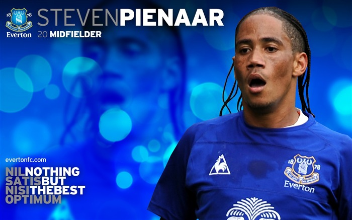 Steven Pienaar-new look 2010-11 version wallpaper Views:4206