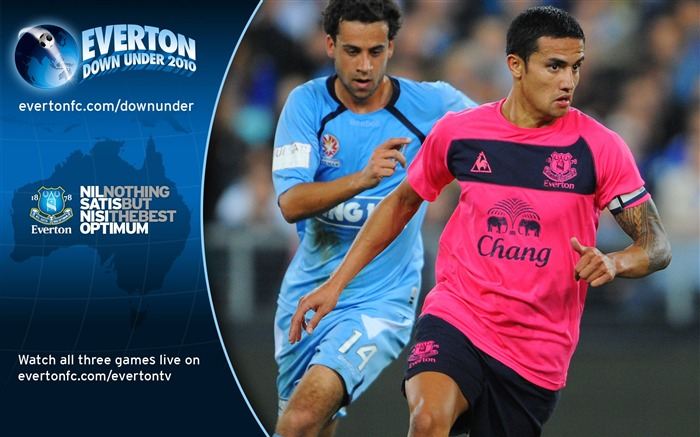 Sydney FC 0-1 Everton Tim Cahill Wallpaper Views:5618