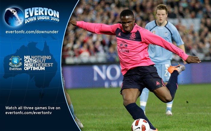 Sydney FC 0-1 Everton Victor Anichebe Scores wallpaper Views:5340