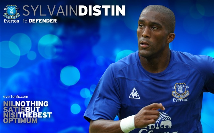 Sylvain Distin-new look 2010-11 version wallpaper Views:3834