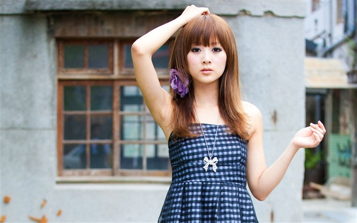 Taiwan beautiful girl MM mikao wallpaper second series 15 Views:6644