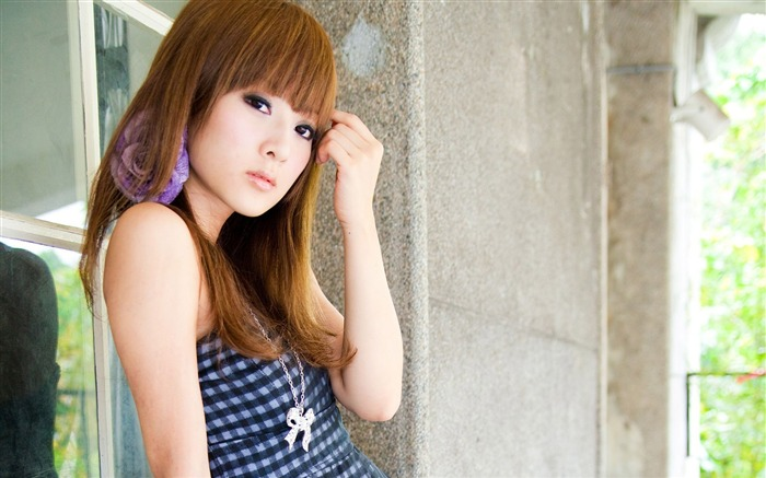 Taiwan beautiful girl MM mikao wallpaper second series 17 Views:4743