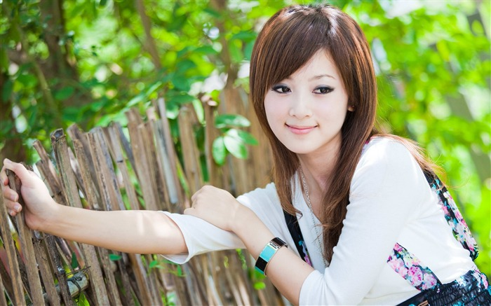 Taiwan beautiful girl MM mikao wallpaper Views:30066