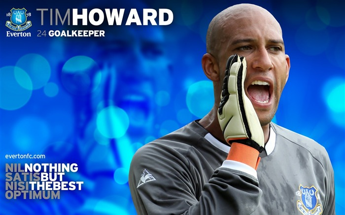 Tim Howard-new look 2010-11 version wallpaper Views:6298