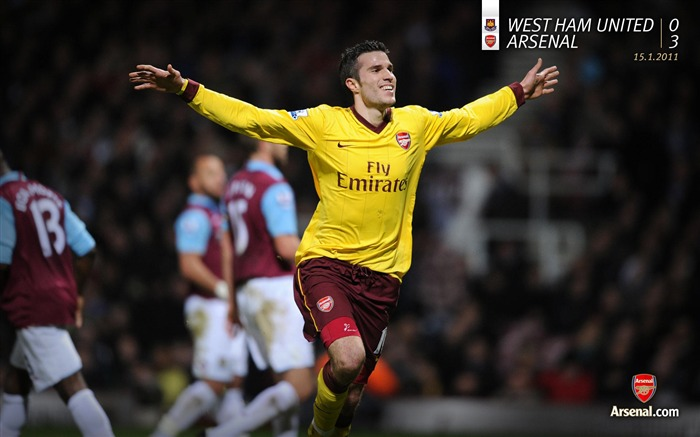 West Ham United 0-3 Arsenal Wallpaper Views:7094