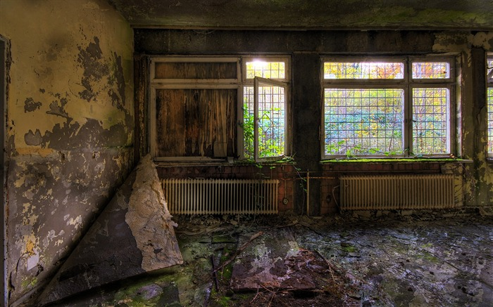 Window Light in Abandoned Houses - Urban Decay Photography Views:9765