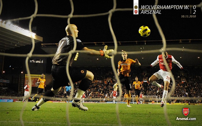 Wolverhampton Wanderers 0-2 Arsenal Wallpaper Views:5136