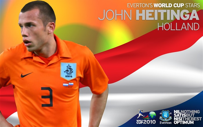 World Cup Blues-John Heitinga Wallpaper Views:4949