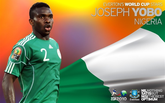 World Cup Blues-Joseph Yobo Wallpaper Views:4945