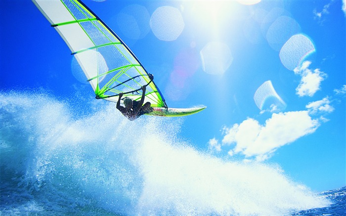 Amazing Wind Surf - extreme sports wallpaper Views:21624