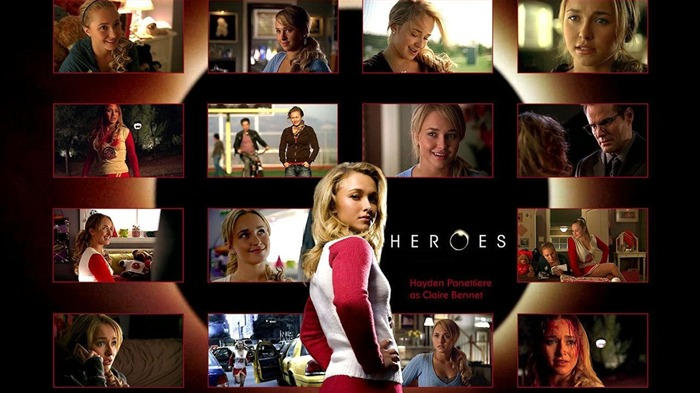 American TV series-Heroes HD Wallpaper-Second Series-Claire Bennet 02 Views:2659