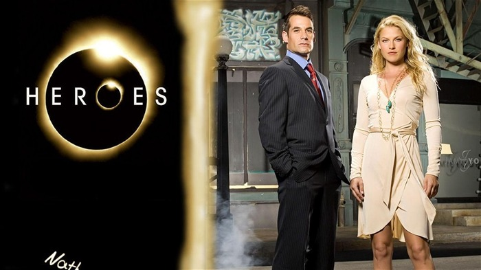 American TV series-Heroes HD Wallpaper-Second Series-Nathan Petrelli Views:1976
