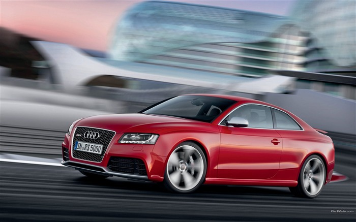 Audi RS5 desktop wallpaper Views:9945
