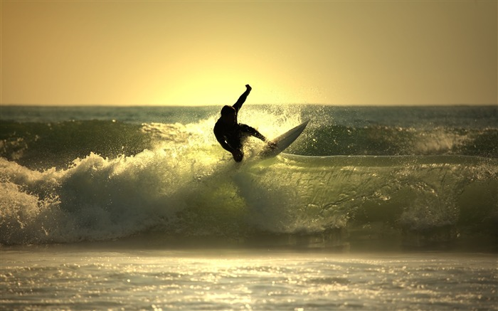 Great Wave Surfing - Life is movement wallpaper Views:18506