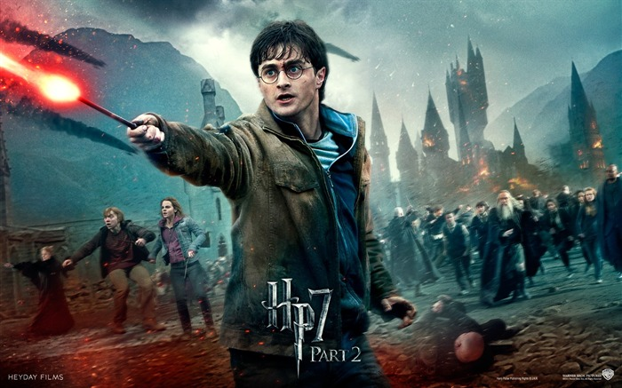 Harry Potter 7 - Magic battle wallpaper Views:25397