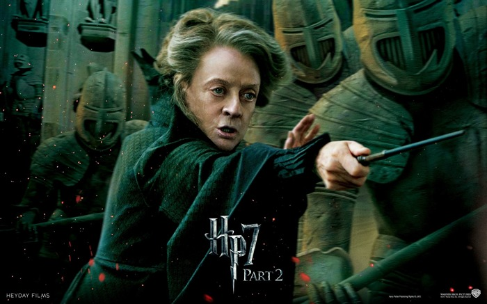 Harry Potter 7 - Minerva McGonagall wallpaper Views:19512