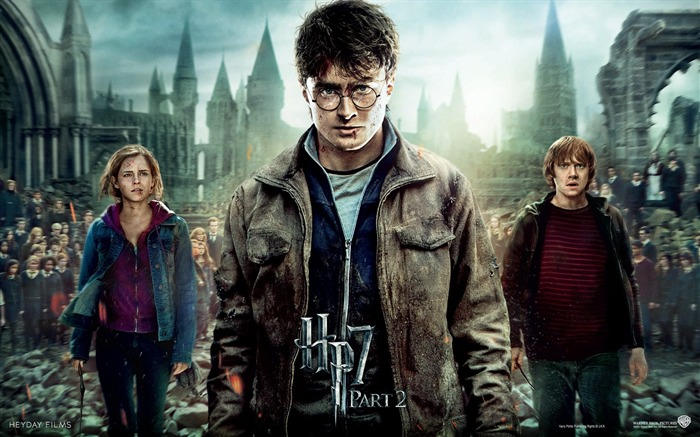 Harry Potter 7 - Poster Wallpaper Views:38754