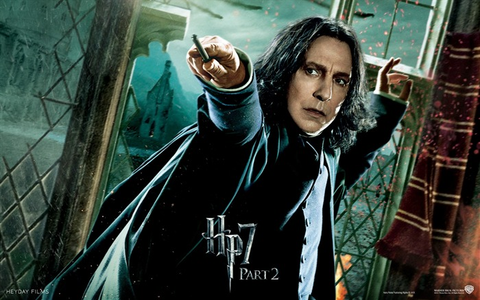 Harry Potter 7 - Professor Snape Wallpaper Views:41406