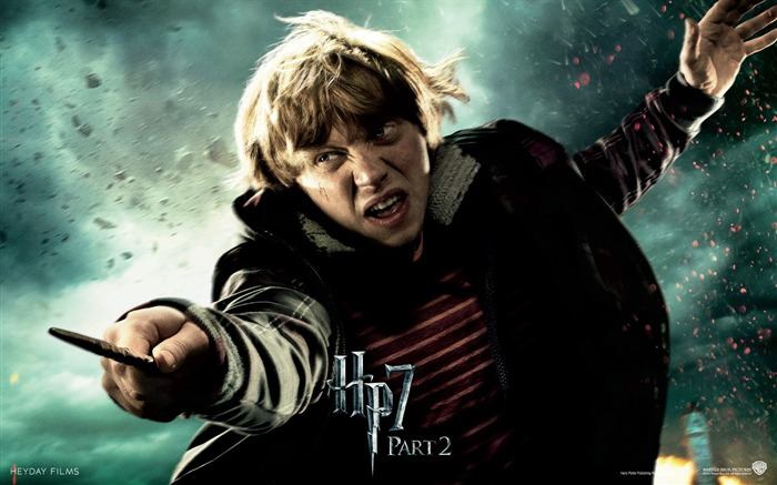 Harry Potter 7 - Ron Weasley Wallpaper Views:35879
