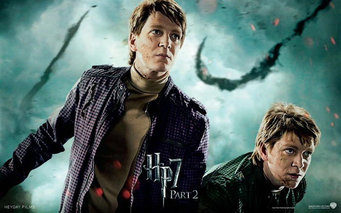 Harry Potter 7 - Weasley twins wallpaper Views:28558