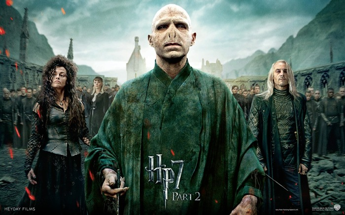 Harry Potter 7 - villain wallpaper POSE Views:15092