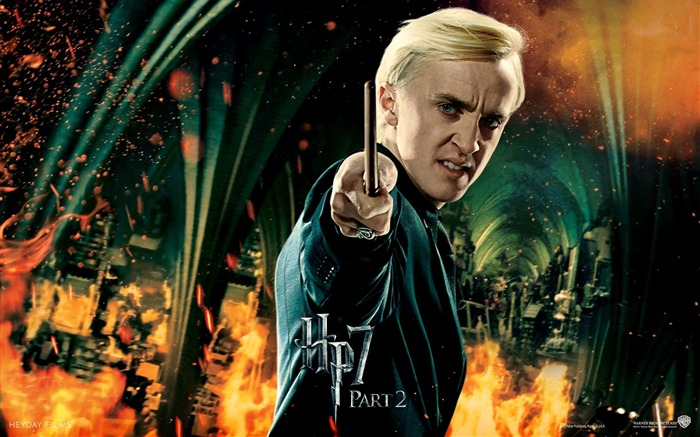 Harry Potter 7  Draco Malfoy Wallpaper Views:57170