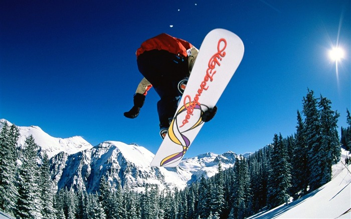 Instant-altitude skiing - Extreme sports wallpaper Views:6830