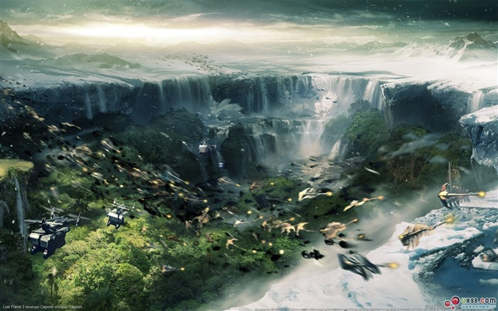 Lost Planet 2 HD Game Wallpaper Views:20464