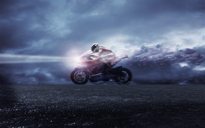 Motorcycle racing - extreme sports wallpaper Views:21400
