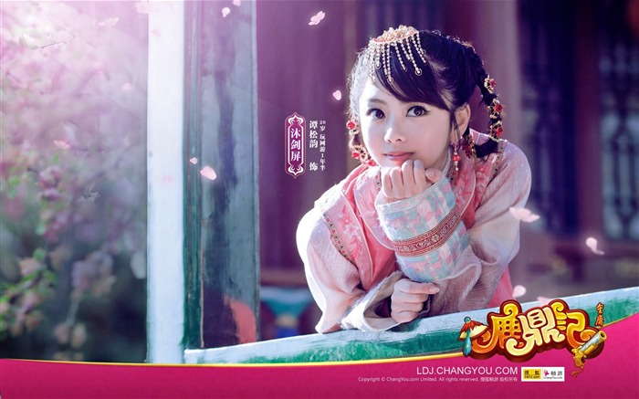 Mu Jianping innocent aura wallpaper COS Views:7085