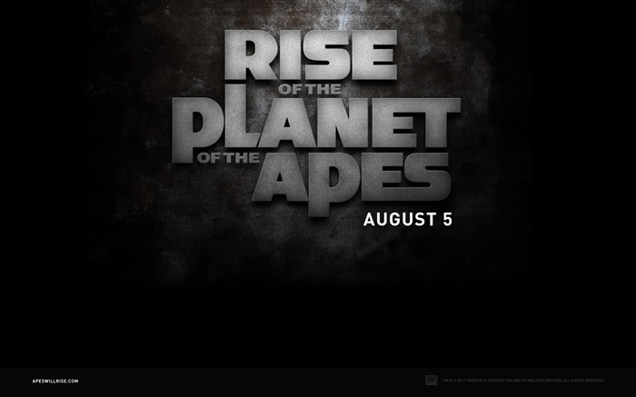 Rise of the Planet of the Apes movie wallpaper Views:4309