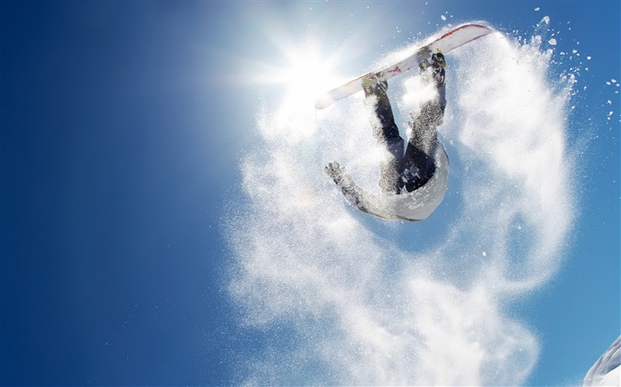 Snowboarding - Extreme sports wallpaper Views:28668