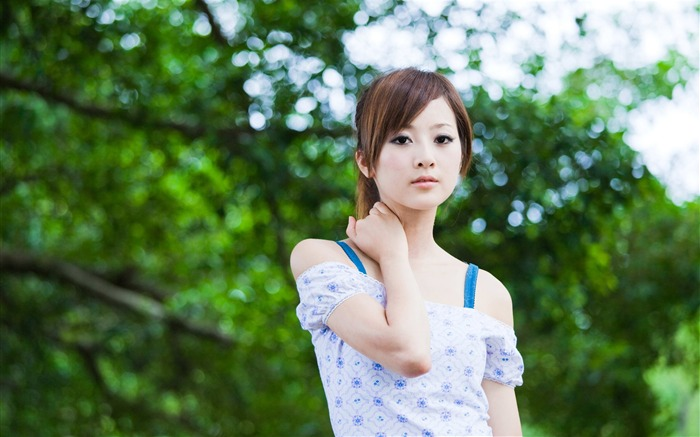 Taiwan beautiful girl MM mikao wallpaper third series Views:13902