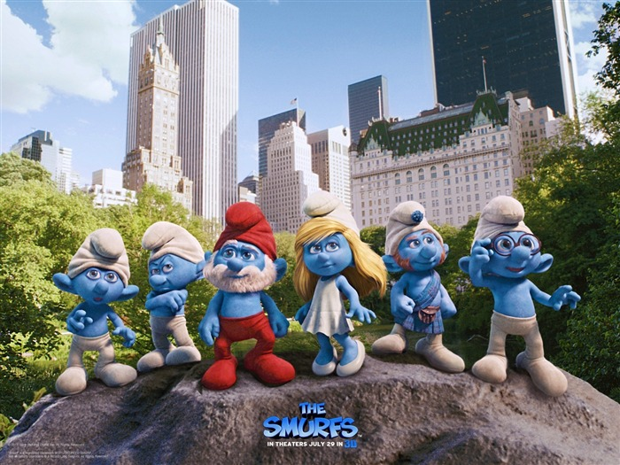 The Smurfs 3D Movie wallpaper 01 Views:11021