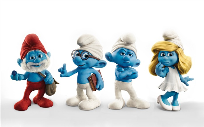 The Smurfs 3D Movie wallpaper 02 Views:22217
