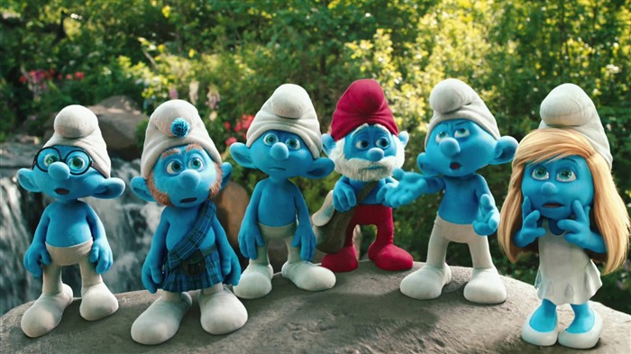 The Smurfs 3D Movie wallpaper Views:26553