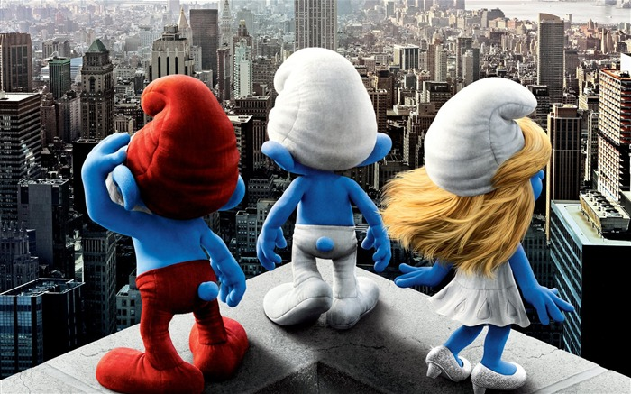 The Smurfs 3D Movie wallpaper 05 Views:13238