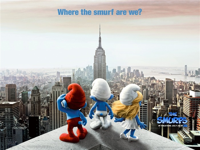The Smurfs 3D Movie wallpaper Views:16615