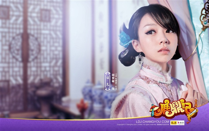 The most beautiful showgirl Ya Zhou dream wallpaper Views:3593