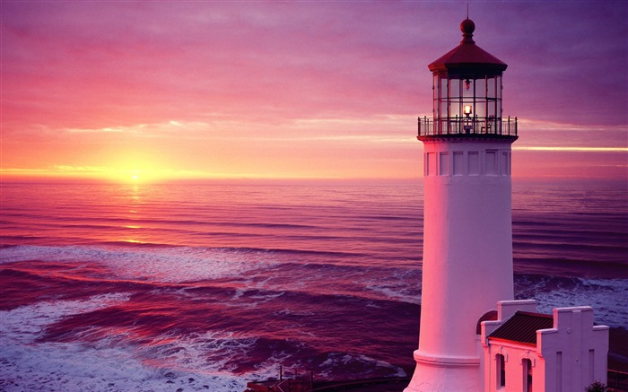 Title:Washington wallpaper North Point Lighthouse Views:13353
