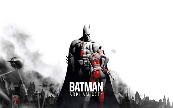 Batman Arkham City game wallpaper Views:12868