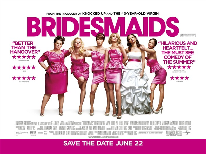 Bridesmaids Movie Wallpaper Views:6988