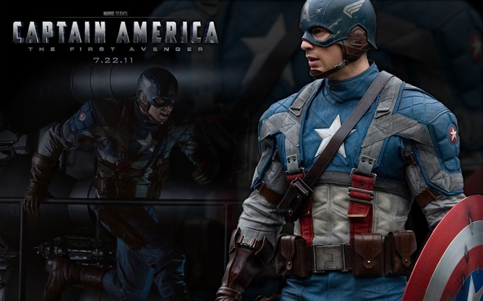 Captain America-The First Avenger HD Movie Wallpaper 01 Views:18833
