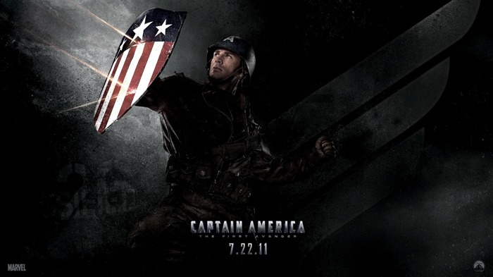 Captain America-The First Avenger HD Movie Wallpaper 02 Views:6419