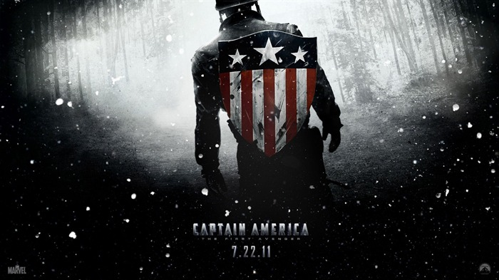 Captain America-The First Avenger HD Movie Wallpaper 03 Views:10050