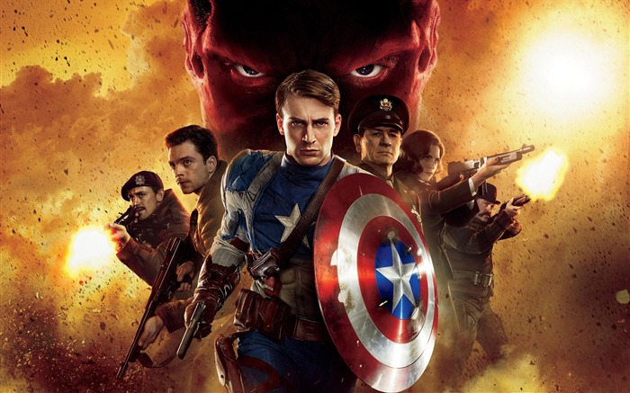 Captain America-The First Avenger HD Movie Wallpaper 08 Views:6147
