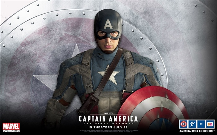 Captain America-The First Avenger HD Movie Wallpaper 09 Views:9832