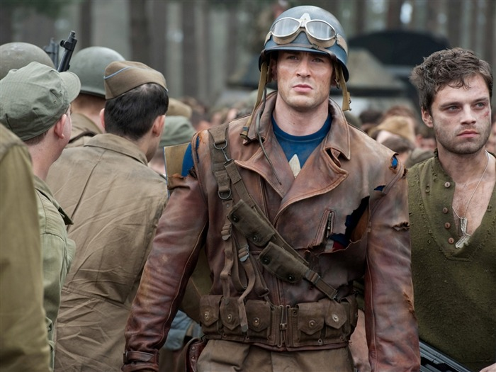 Captain America and Bucky Barnes-Captain America-The First Avenger HD Movie Wallpaper 23 Views:6439